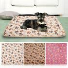 6 Styles Pet Dog Cat Soft Fleece Blanket Warm Paw Print Bed