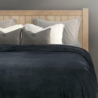 Bedsure Fleece Size Dark Grey Bed
