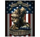 "Fleece Throw Blanket 50"" x 60"" Military Army Marines America"