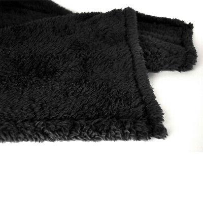 Fleece Warm Blanket Couch Bed Soft