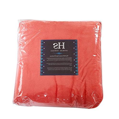 HYSEAS Coral Fleece Size Plush Blanket