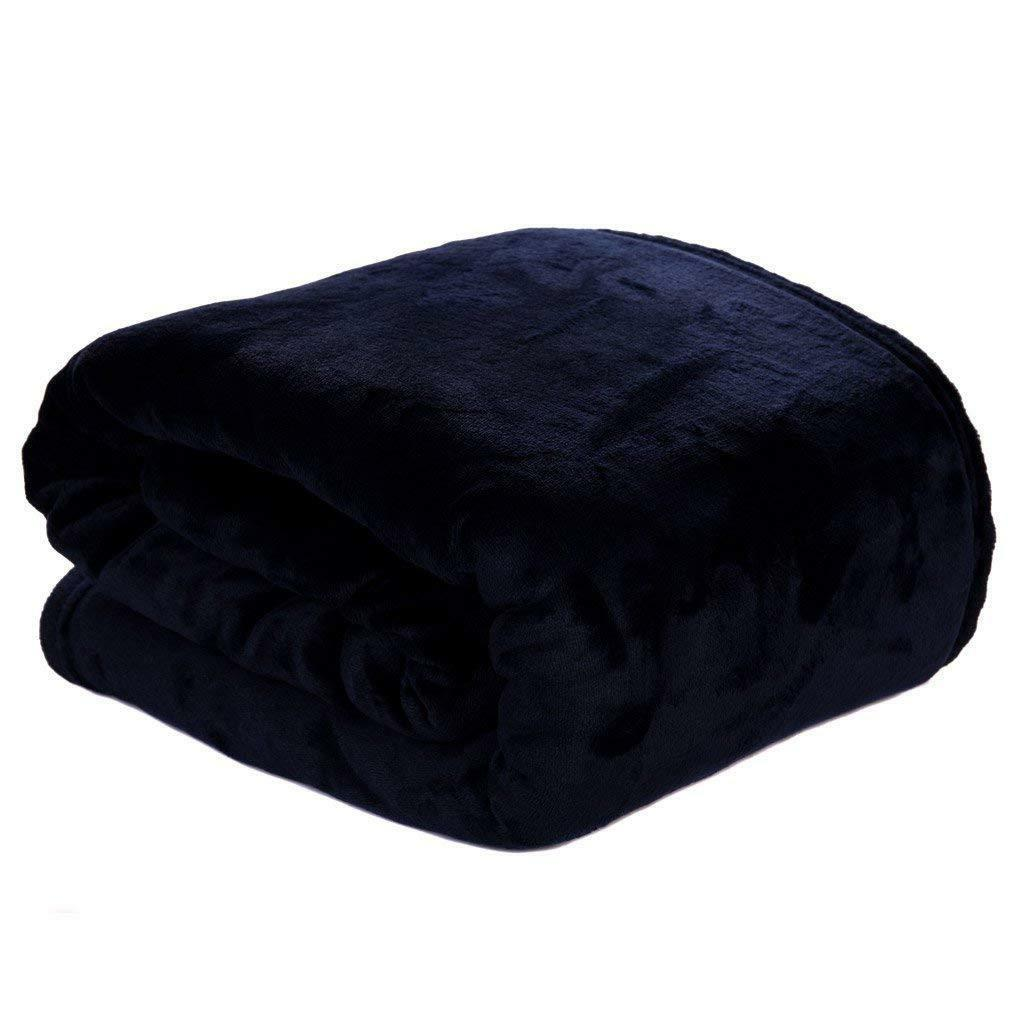 HYSEAS Velvet Home Fleece Bed Blanket,