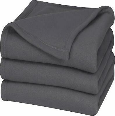 Utopia Bedding Polar Fleece Blanket  - Extra Soft Brush Fabr