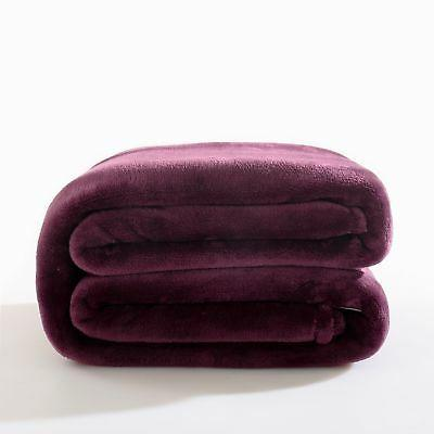 Reafort Ultra Soft Flannel Fleece Royal Plush Velvet 350GSM