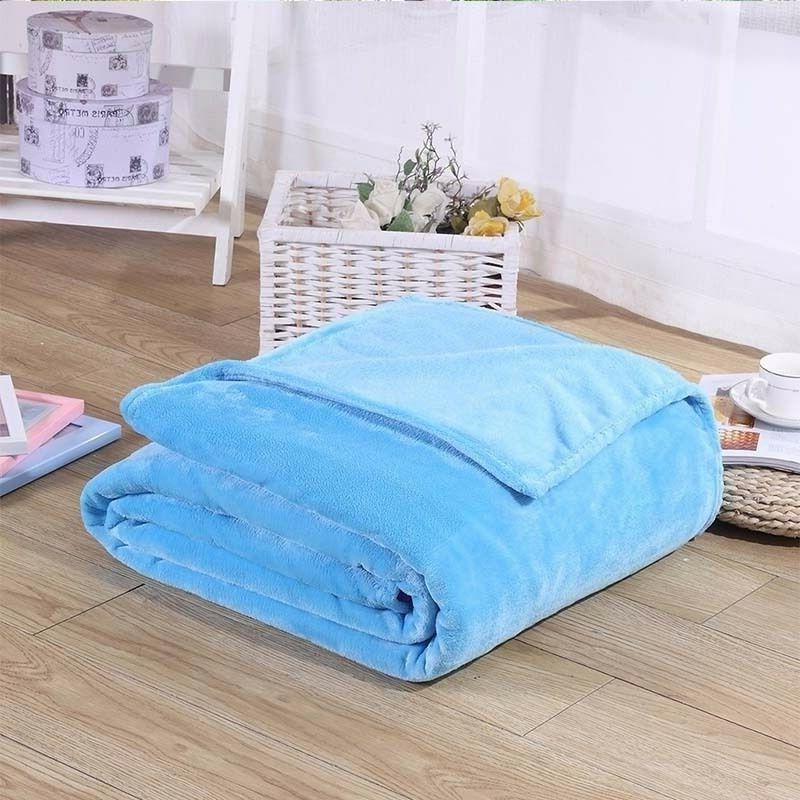 "Soft plush Fleece Throw 50""x 60"" All"
