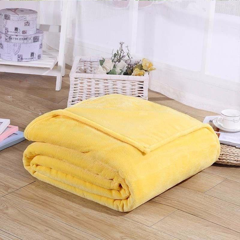 "Soft plush Fleece Throw 50""x Colors"