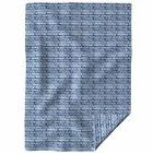 Throw Blanket Indigo And White Indigo Shibori Chinese Pine J