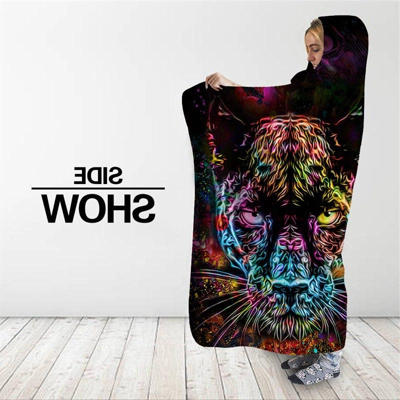 Animal Fashion Cover <font><b>Blanket</b></font> Home Office for Adult