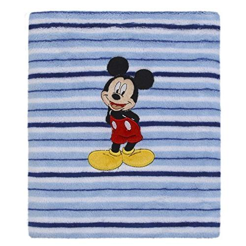 baby mickey mouse infant blanket
