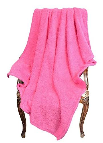 Napa Bed Reversible Fuzzy 50 W Pink