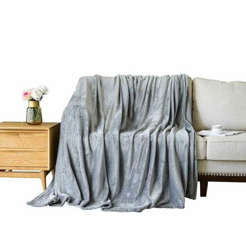 Bedding Flannel Blanket Twin Queen&King Size