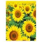 Blanket Fleece Throw Sunflower Fall Autumn Sofa Couch Bed De