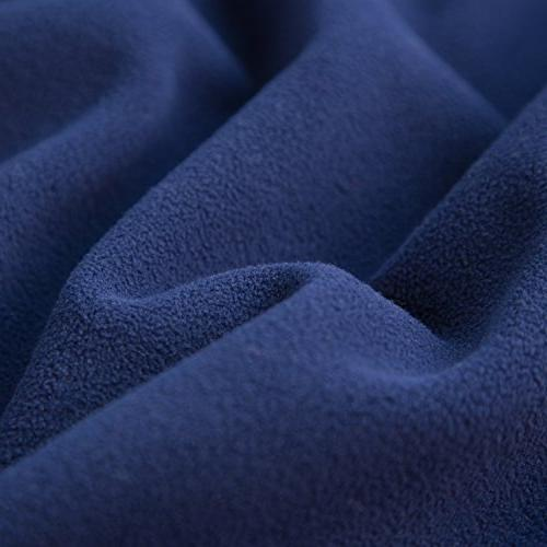 Bedsure Camping Blanket Navy/Light Size 60x80 Polar Fleece Warm