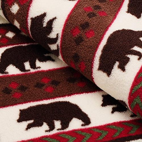 COSMOZ Canada Pine Soft 230GSM Blanket Throw x