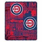 CHICAGO CUBS MLB Fleece Throw Blanket 50-inch by 60-inch