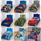 """Childs Bed Room TWIN Plush BLANKET 62x90"""" Boys Movie TV Char"""