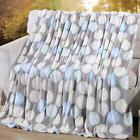 Coral Fleece Fabric Super Warm Soft Blankets With Multiple B