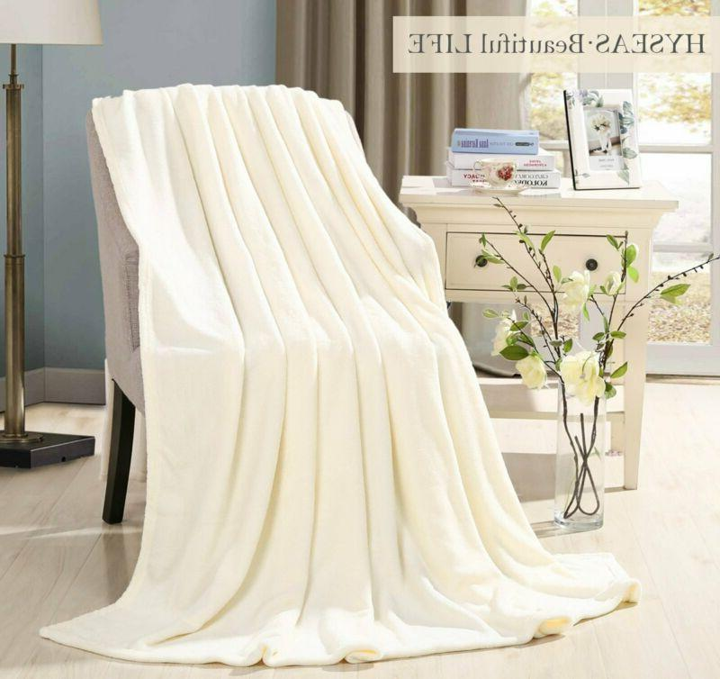 HYSEAS Coral Size Plush Bed Ivory