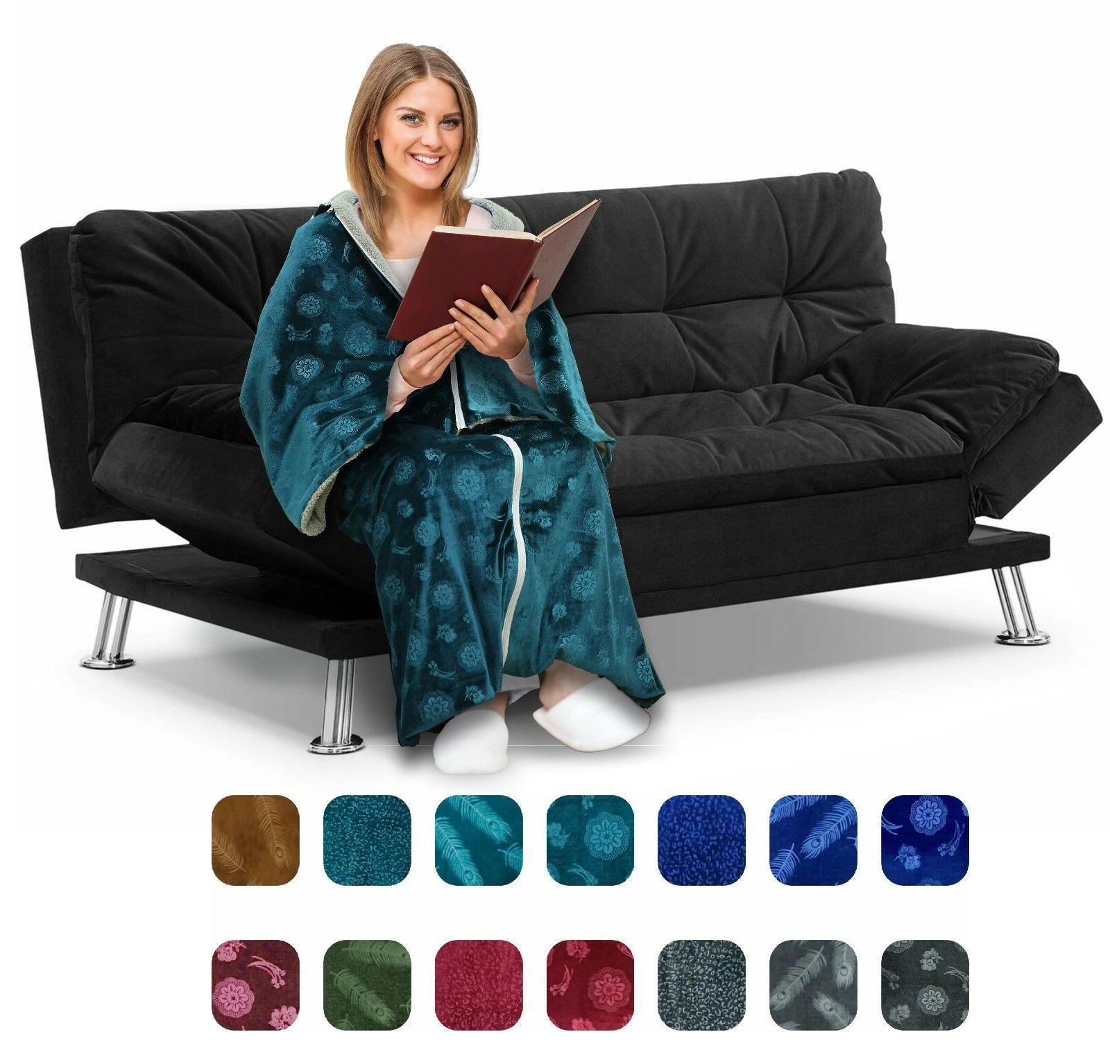 cozee deluxe wearable blanket for adults ideal