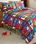 Cozy Seasonal Fleece Blanket Sets includes Shams Holiday or