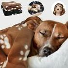 Dog Cat Puppy Sleep Blanket Soft Thick Warm Fleece Mat