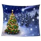 Double Fleece Xmas Blanket Cozy Warm Sofa Couch TV Throw Bla