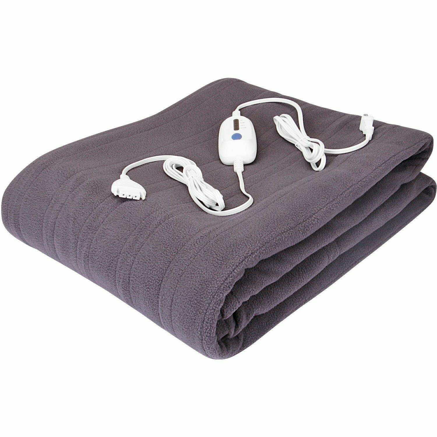 Electric Heated Fleece 4 Heat Pack of 4 Bedding