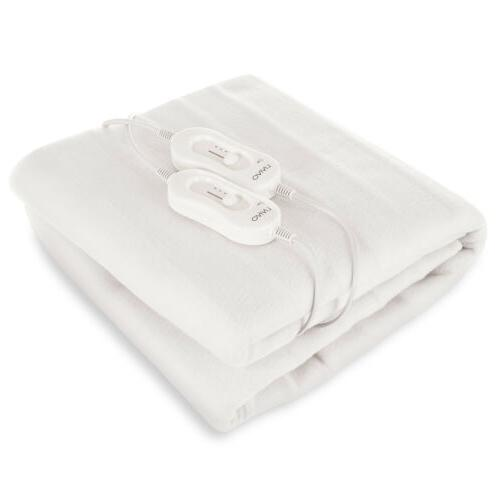ELECTRIC HEATED POLYESTER BLANKET / OVER THROW BLANKET HEAT