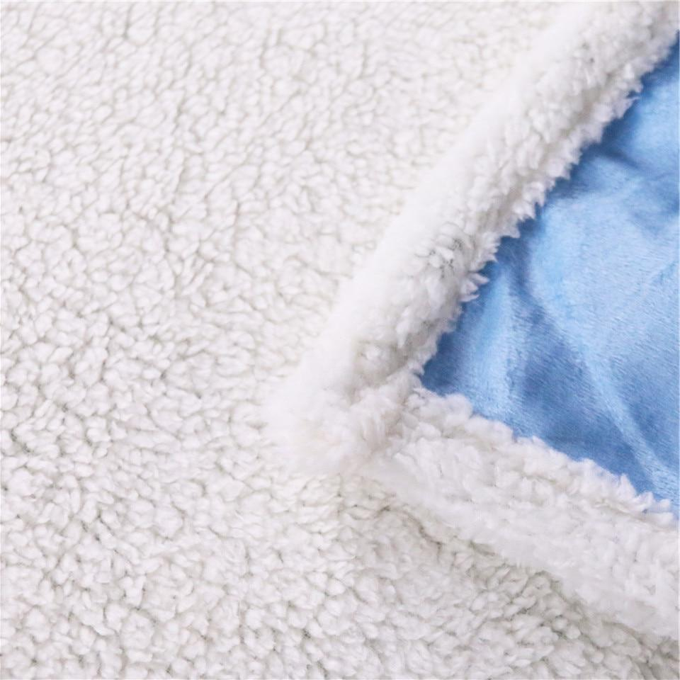 Eyelash <font><b>Blanket</b></font> Black Sherpa Flannel Reversible Pattern Bed Stylish Bedding