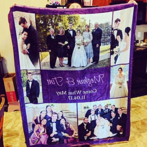 Fast Blanket Personalized Gift Blanket