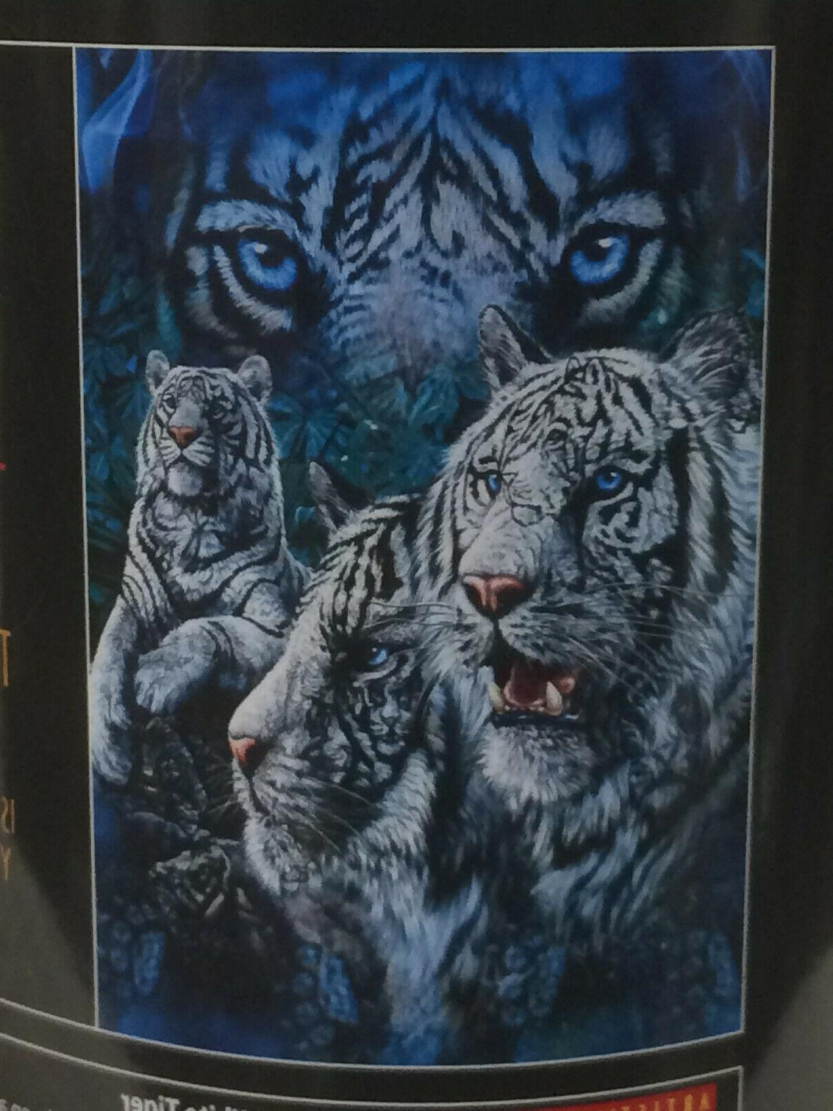 *OPEN ITEM* White Tigers Tiger blanket throw NEW