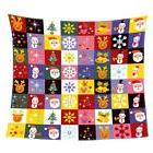 Flannel Blanket Xmas Double Fleece Cozy Warm Sofa Throw Blan