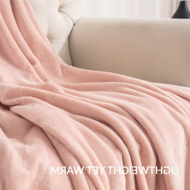 Throw Size Pink