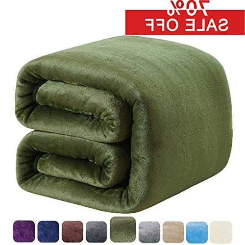 fleece blanket king 350gsm throw