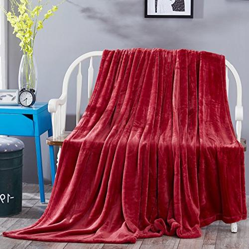 Sonoro Blanket Soft King Lightweight Couch