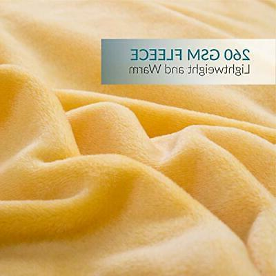 Bedsure Blanket Size Gold Twin