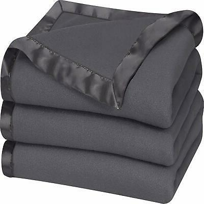 Fleece King Size Blanket Soft Cozy Men