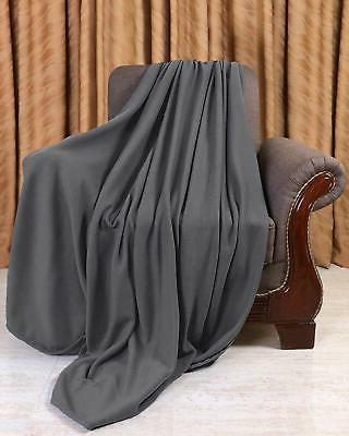 Fleece King Size Throw Blanket Soft Lightweight For Men