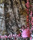 Handmade FLEECE TIE-BLANKET 60X90 XL or 60X72 Realtree HD Ca