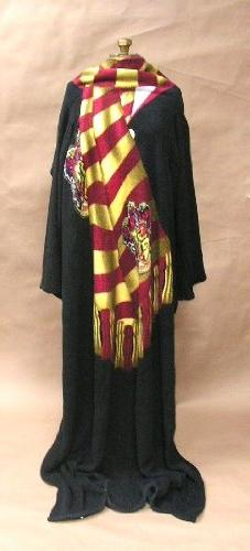 Harry Potter  Micro Raschel Comfy Throw Blanket with Sleeves