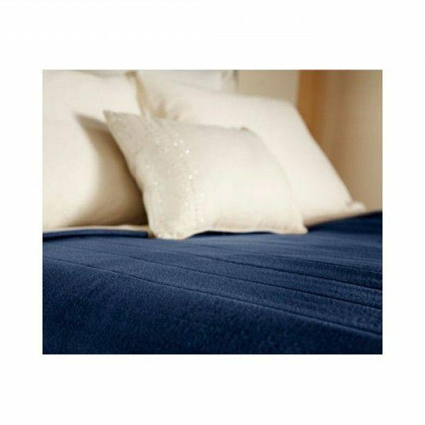 heated electric blanket quilted fleece royal dreams