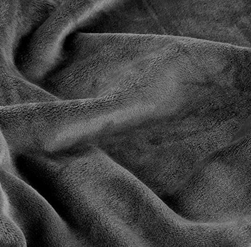 Utopia Flannel Luxury Couch/Throw - Plush Extra Soft Brushed