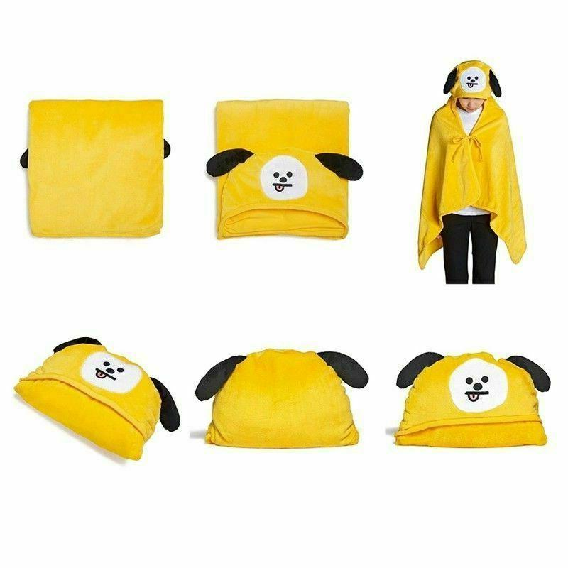 KPOP Cartoon Napping Coral Fleece Conditioning