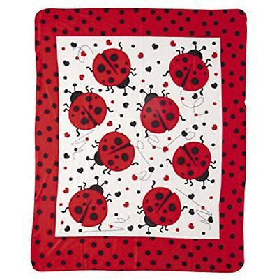 ladybug fleece blankets and throws throw home