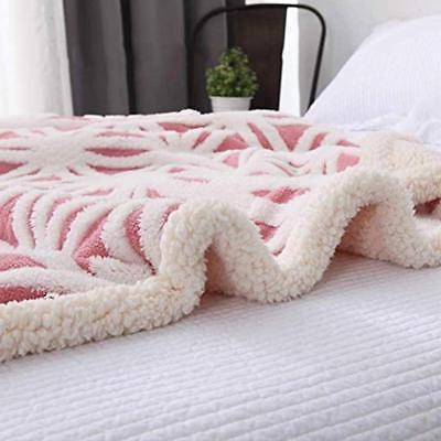 LOMAO Fleece Blanket Dual Fit Couch Sofa