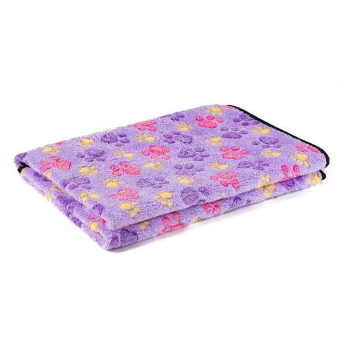 Lovely Paw Soft Pet Blanket Dog Cat Puppy