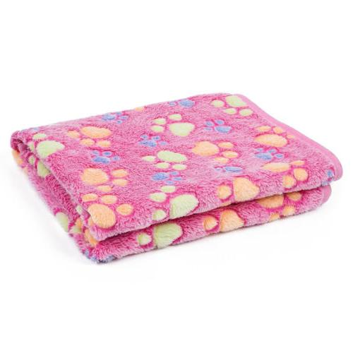 Lovely Design Paw Soft Blanket Dog Cat Puppy Bed Sofa
