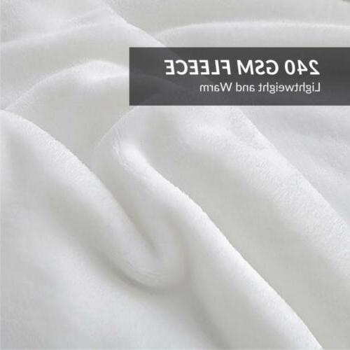 Luxury Bedsure Fleece Plush