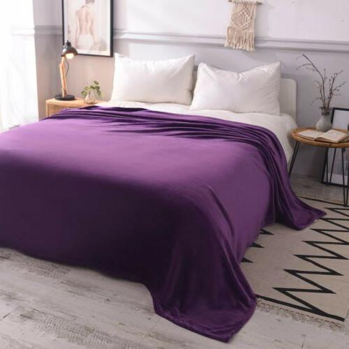LUXURY Blanket Lightweight Microfiber for Bed Couch