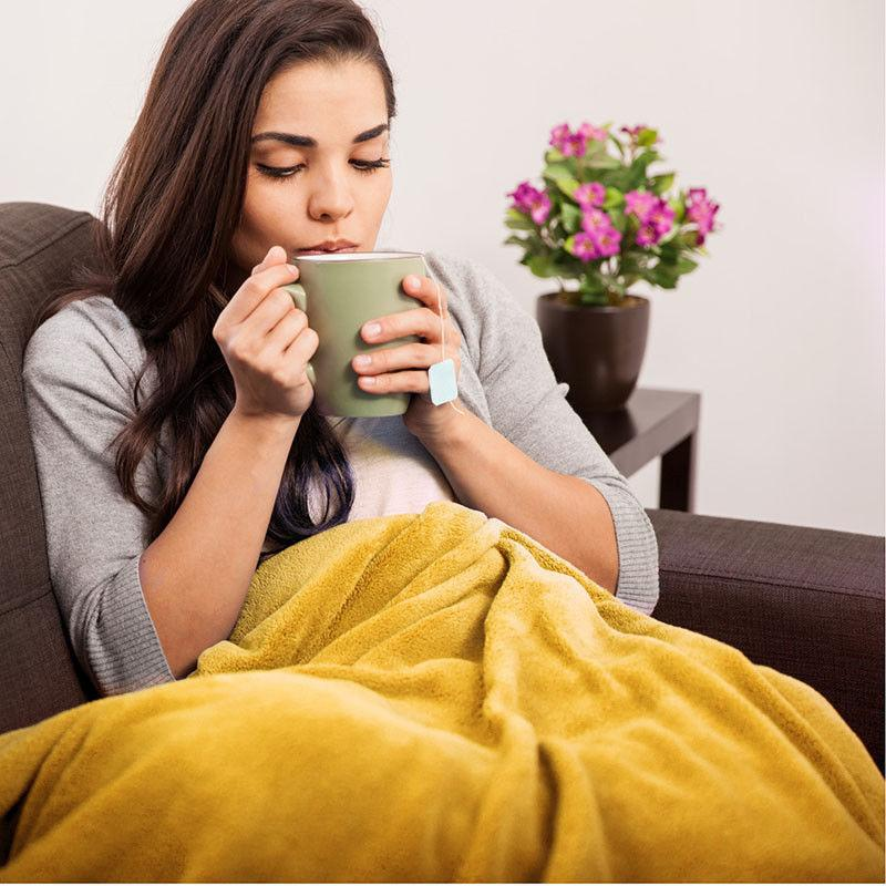 Bedsure Flannel Throw Soft Couch Blanket